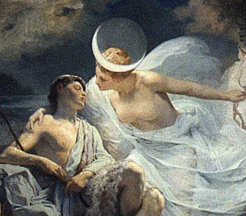 Luna 罗马神话中的月亮女神卢娜